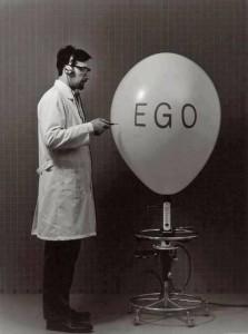 Spruch Ego - Art & Veni, Vidi, Vici